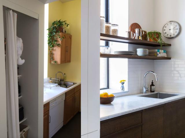 Modernisation d'une petite cuisine